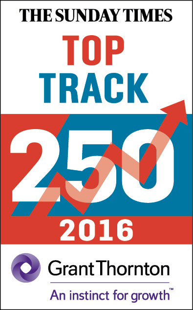 Sunday Times 2016 Top Track 250 logo